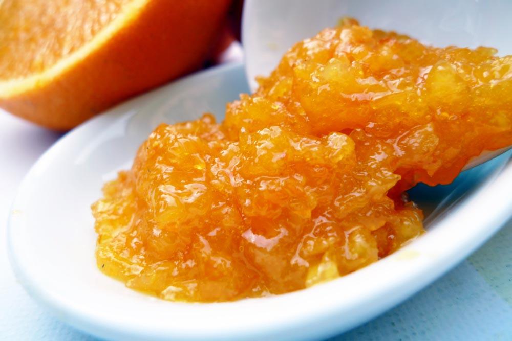 Receta mermelada naranja