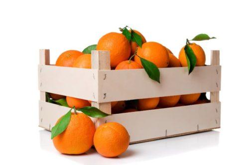 Caja naranjas mesa valencianas