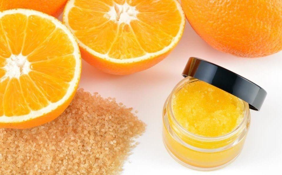 Exfoliante de naranjas